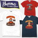 ショッピングスマイル PHERROW'S(フェローズ)半袖Tシャツ【16S-PT6・SMILE PLAY WOOD】