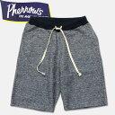 Pherrow's(フェローズ)スウェットショーツ【17S-PSSP1】ネイビー杢