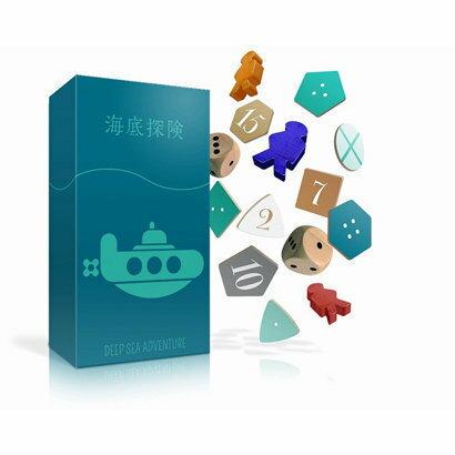 海底探検知育玩具盛り上げボードゲームお誕生日プレゼントキッズパーティ子供ギフトお祝いカードゲーム贈り