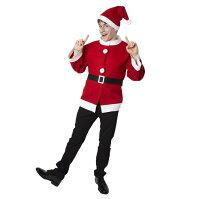 シンプルサンタジャケット/サンタ衣装コスチュームクリスマス仮装【RCP】【23-Oct】【28-Oct】