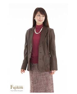 【元町ゼラール】【リアルレザー!】ゴートレザージャケット【074-566】【フジコウ】【新着商品】