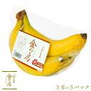 【フィリピン産】金の房 バナナ 天晴れ農園 3本パック×5セットバナナ 業務用 送料無料 ばなな あ