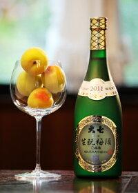 「日本酒地酒福島県」大七酒造純米大吟醸仕込み大七生もと梅酒2011年物/箱付