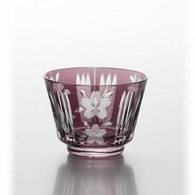 友禅桜紋 桜紋冷酒(古色紫) /グループB
