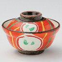 碗 赤絵丸紋小蓋向 身の直径(最大径):110・蓋付の高さ:75/業務用/新品 /テンポス