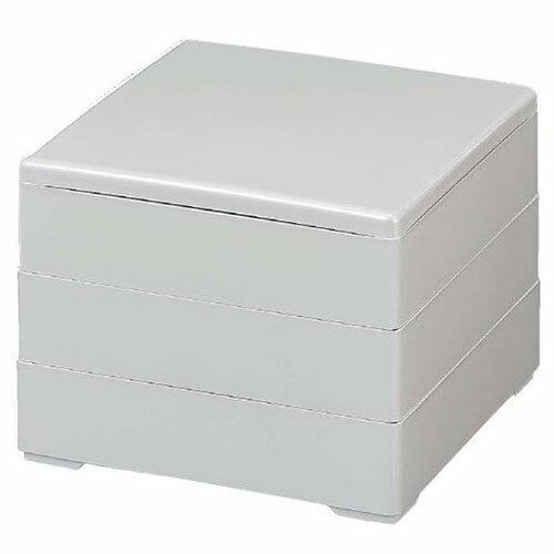 お正月商品・お重箱65寸彩重ホワイトパール3段/業務用食器/新品