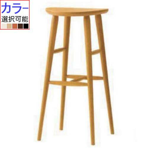 CRES(クレス) 椅子(イス) ソルドカウンターイス 板座高さ750mm×直径380 【業務用/新品】【送料無料】