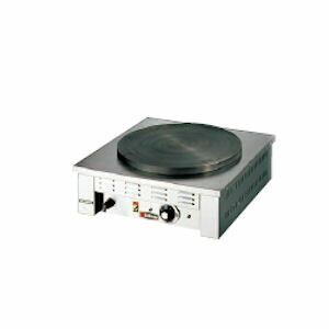クレープ焼器 一連 電気式 エイシン EC-2000 【業務用】【送料無料】