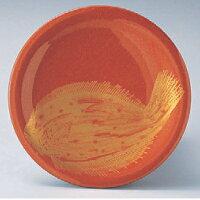 回転寿司皿 寿司皿朱パール金ヒラメ 高さ21 直径:150 (業務用)(グループI)