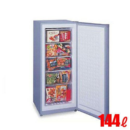 三ツ星貿易 フリーザー(アップライト型 冷凍ストッカー) 144L MA-144 W519×D600×H1225 【送料無料】【業務用】