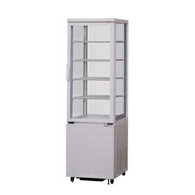 【冷蔵ショーケース】【サンデン】タテ型冷蔵ショーケース 96Lタイプ【AGV-90X】W423×D460×H1378mm【送料無料】【業務用】