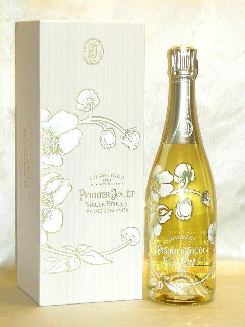 ペリエ ジュエ ベル エポック ブラン ド ブラン [2002] 豪華木箱入 【正規品】 Perrier Jouét Belle Epoque Blanc de Blancs