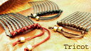 シルク糸とアンティークパーツだけで作ったシンプルなコーム。余計なものを省いた潔さ。「Hand in Factory ASHIYA」【Beyond the time 10本櫛】トリコット[女髪コーム・ヴィンテージ・アンティーク・デッドストック・ヘアアクセサリー]