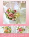 【バラと小花のブライダルトスブーケ】プリザーブドフラワーブライダルブーケ【2011point】【11】