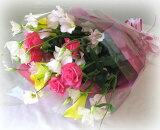 【生花】オーダーメイド花束3000季節の花束【楽ギフメッセ入力】【HLSDU】