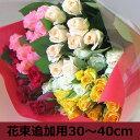 【オプション】【生花】★Mサイズ★バラの花束に追加用【クリス...