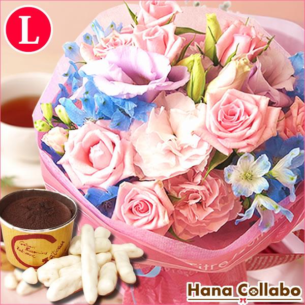 結婚祝いガーベラ花束季節の誕生日花セット(Lサイズ)誕生日プレゼント6月女性女友達母妻への贈り物花と
