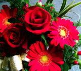 バレンタイン 花ギフト お祝い プレゼント 花プレゼントにも おまかせ レッド系 花束 バレンタイン 花ギフト お祝い 花 人気ランキング 花ギフト 花束 誕生日 プレゼント バラ