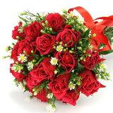 人気ランキング 定番!!赤バラの花束 ブーケ バレンタイン 花ギフト お祝い プレゼント 誕生日、お祝い などに 【楽ギフメッセ入力】 プロデザイナ-特選
