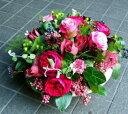 誕生日 お歳暮 開店祝い プレゼント おまかせ バラの薫り フラワーアレンジメント 花 人気ランキング 花ギフト 花束 結婚記念日 (誕生日 などにも) バラ 就任 送別 22