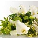 誕生日 お歳暮 開店祝い 送別 プレゼント おまかせ ホワイト、グリーン系花束 送別 花 人気ランキング 花ギフト 花束 結婚記念日 (誕生日 などにも) バラ 就任 送別 33 花束