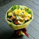 送料無料 誕生日 お歳暮 開店祝い 合格祝い プレゼント おまかせ 黄色オレンジ系ブーケ 花束 合格祝い 花 人気ランキング 花ギフト 花束 結婚記念日 (誕生日 などにも) バラ 就任 送別 9 花束