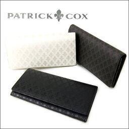 パトリックコックス PATRICK COX 長財布 メンズ 本革 PXMW9ET1【コンビニ受取対応商品】