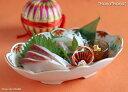 大正浪漫 櫻珞(ようらく) 楕円刺身鉢