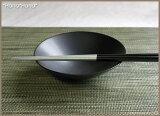ブラックシリーズ/シンプルサークル・14cm平鉢(黒)