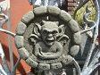 ガーゴイル グレムリン イングリッシュ 英国 ガーデニングガーデン 魔除けグッズ ストーン製【花遊び】『English Gargoyle Plate』