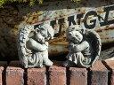 ガーデニング ガーデン エンジェル イングリッシュ英国 雑貨 ストーン製【花遊び】【N