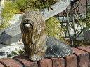 ガーデニング ガーデン イングリッシュ英国 雑貨 ストーン製『English Yorkshire Terrier』