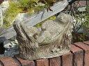 ガーデニング ガーデン イングリッシュ英国 雑貨 ストーン製『English Relaxation Hedgehog』