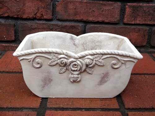 ガーデニング鉢陶器植え木鉢スタンドポットバラプランター寄せ植えガーデン花遊びローズ♪ウイングポット