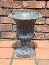 ガーデニング ガーデン 雑貨 『アンティーク風♪ダークグレーロングカップ・L』