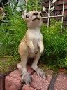 ガーデニング ガーデン カンガルー 置物樹脂 アニマル 動物 雑貨【花遊び】『ベイビーカンガルー』