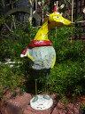 キリン 置物 樹脂 アニマル動物 雑貨 ガーデニング ガーデン【花遊び】『ジラフ・クリスマス』