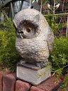 ふくろう オウル 置物 樹脂 アニマル動物雑貨 ガーデニング ガーデン【花遊び】『ドクターオウル』【2月上旬のお届け予定です】