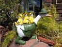 ガーデニング雑貨 ガーデン アニマル 動物 雑貨『アヒルと小鳥たち』