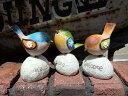 ガーデニング雑貨 ガーデン 小鳥置物 樹脂 アニマル 動物 雑貨【花遊び】『ウエルカム フラワー バード・A』【12月中旬のお届け予定です】