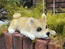 雑貨 ガーデニング ガーデン ドッグ アニマル【花遊び】【NEW】『伏せ柴』