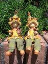 ガーデニング雑貨 ガーデンお人形 ドール 妖精 お座り 【花遊び】『おすわり妖精♪どんぐり』