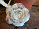 ガーデニング ガーデン ローズ バラ 母の日ハンギング テラコッタ オブジェ 【花遊び】『アンティーク風♪ローズオブジェ』