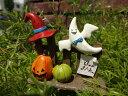 ハロウィン かぼちゃ パンプキン オーナメントガーデニング ガーデン アンティーク【花遊び】『ハットウッドフェンスピック』