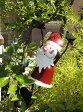 クリスマス サンタ スノーマン トナカイ ツリーガーデニング ガーデン イルミネーション 【花遊び】【NEW】『おちゃめ♪ぶら下がりサンタ・A』