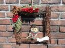 クリスマス ガーデニング ガーデン『ふくろうフレームデコ』