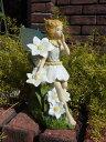 ソーラー ライト 雑貨 ガーデニング ガーデン【花遊び】『ソーラーライト!妖精・ブルー』