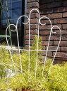 トレリス プランター 寄せ植え オーナメント 雑貨ガーデニング ガーデン アンティーク【花遊び】『ミニ!トレリス♪フェンス・ホワイト』