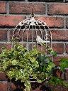 ガゼボ 鳥かご 小鳥 ガーデニング ガーデン雑貨 アンティーク アイアン 寄せ植え【花遊び】『鳥かご・BALCONY』