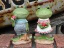 雑貨 ガーデニング ガーデン『カエルとストロベリー』